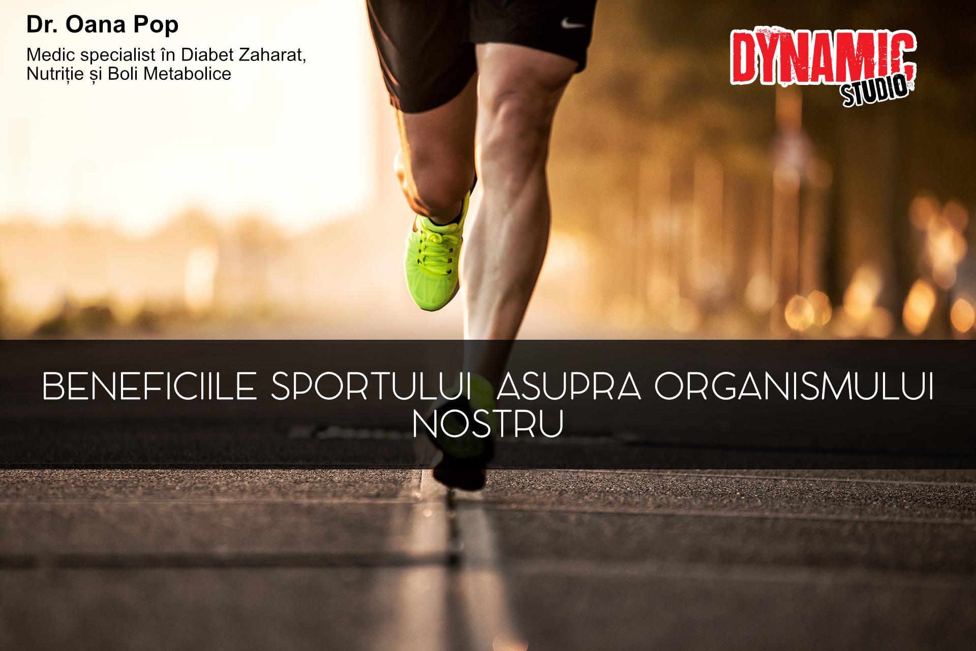 beneficiile sportului in organism