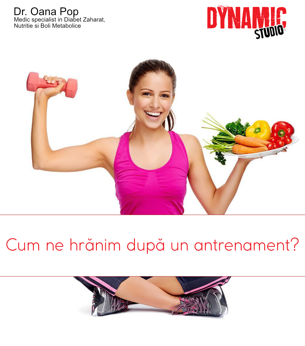 hrana dupa antrenament